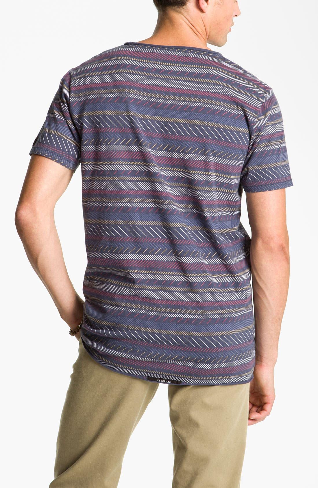Alternate Image 2  - Zanerobe Stripe T-Shirt