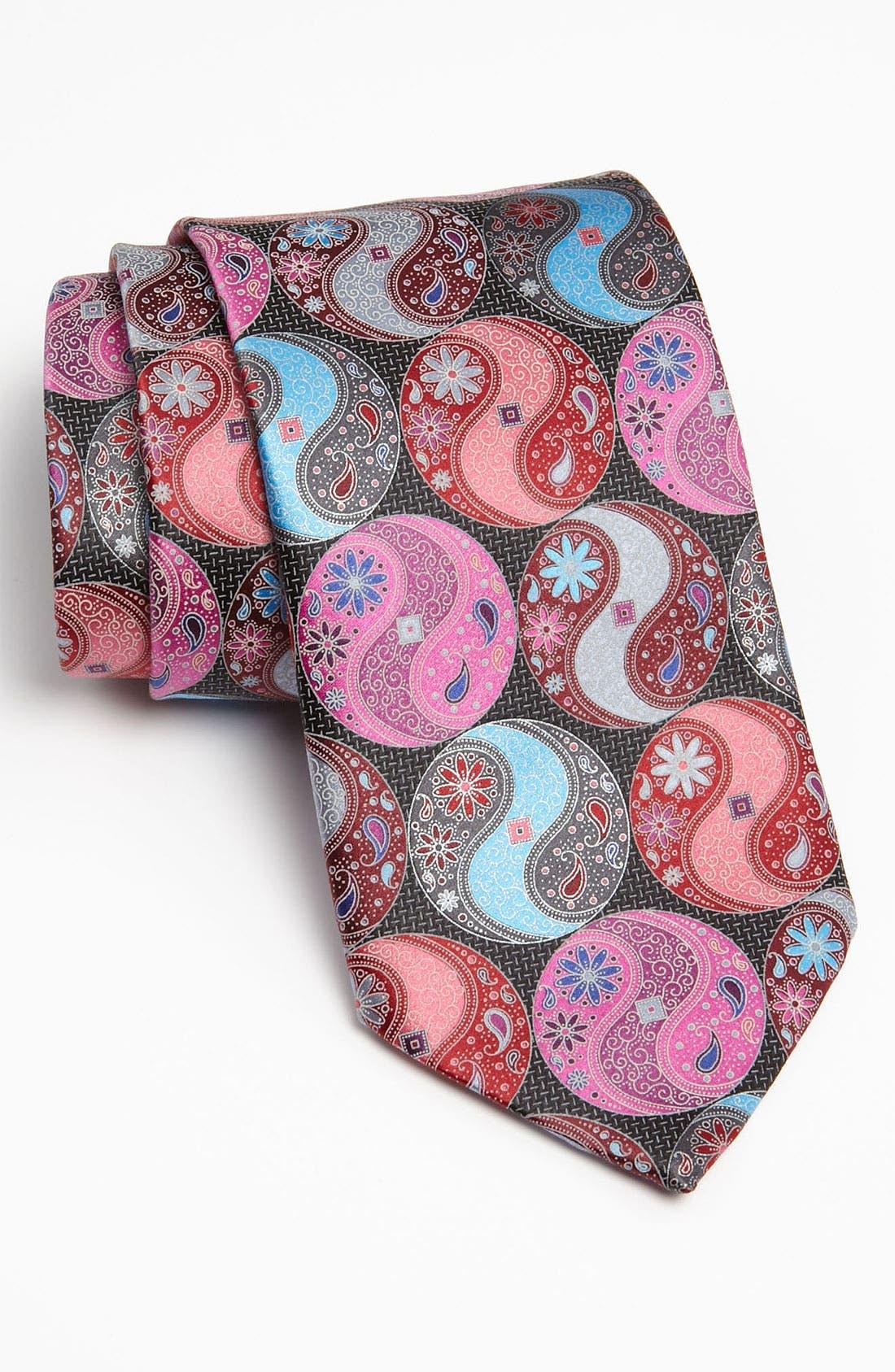 Alternate Image 1 Selected - Ermenegildo Zegna 'Quindici' Print Silk Tie