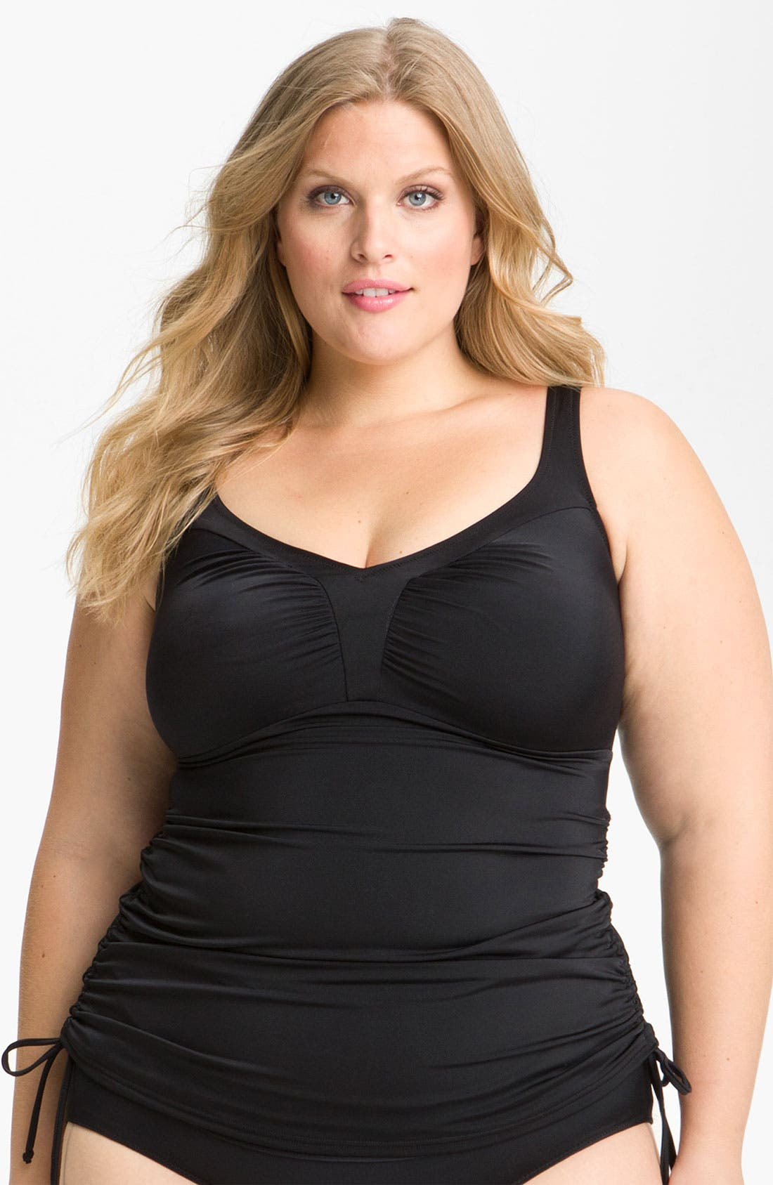 Alternate Image 1 Selected - Elomi 'Isis' Layering Tankini Top (Plus Size)