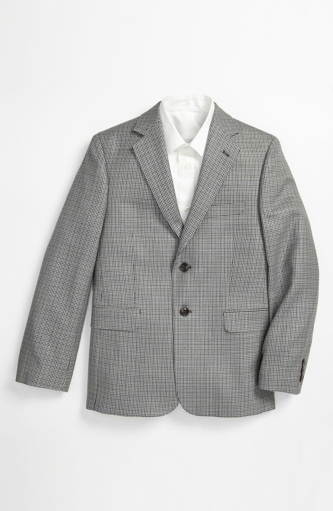 Alternate Image 1 Selected - Joseph Abboud Houndstooth Sportcoat (Big Boys)