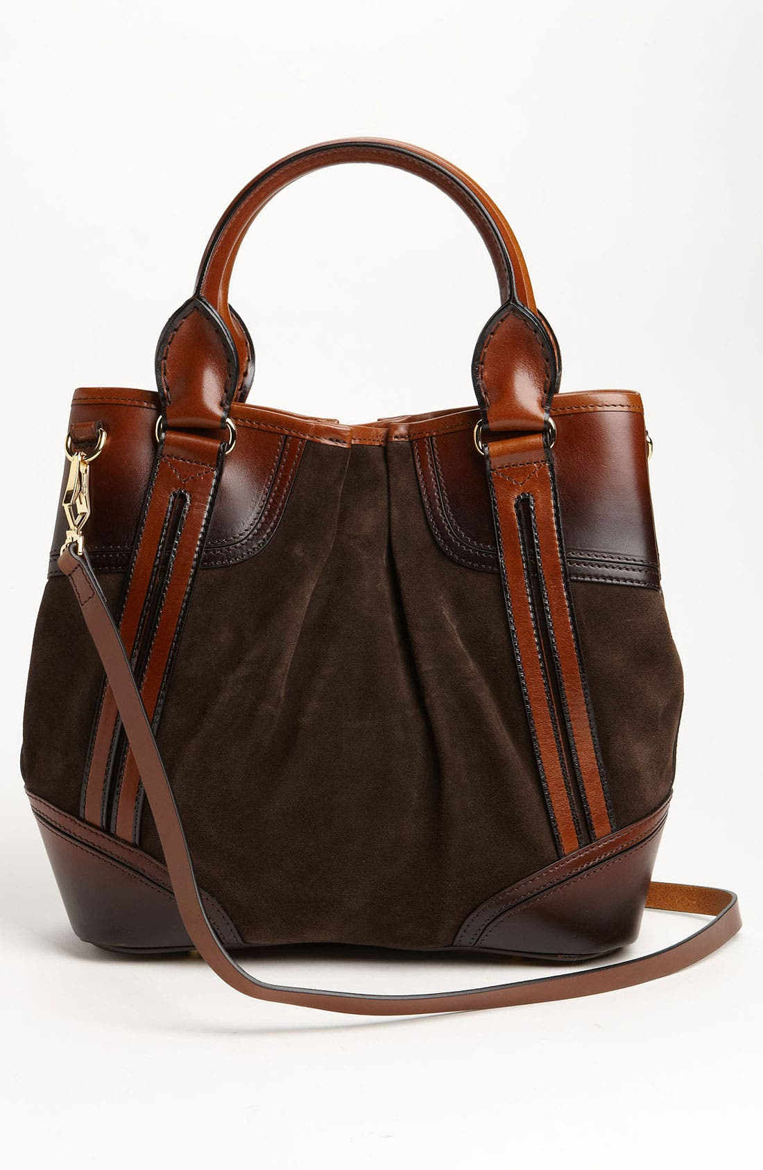 Alternate Image 4  - Burberry Suede Tote