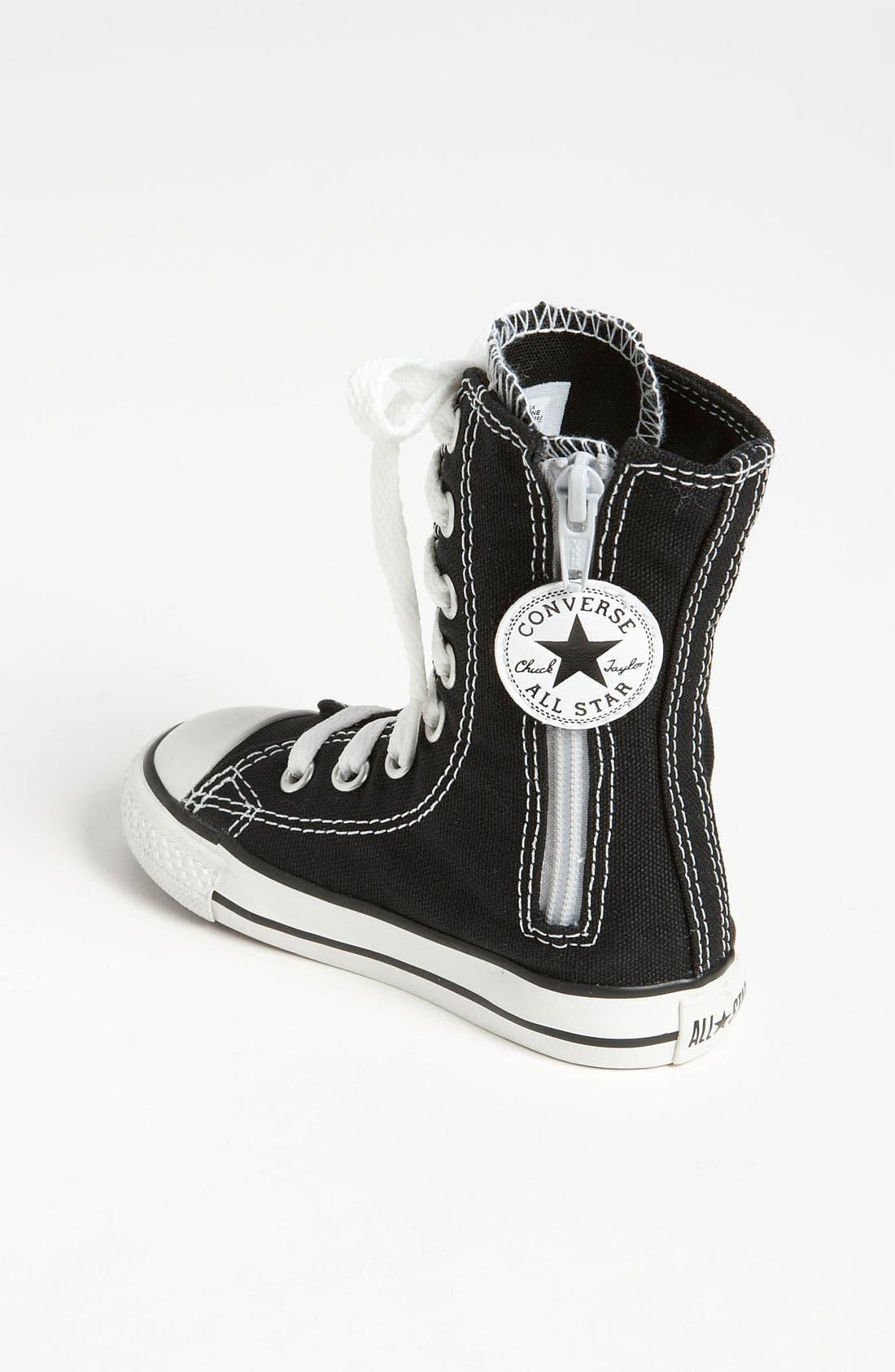 Alternate Image 2  - Converse 'X-HI' Tall Sneaker (Baby, Walker & Toddler)