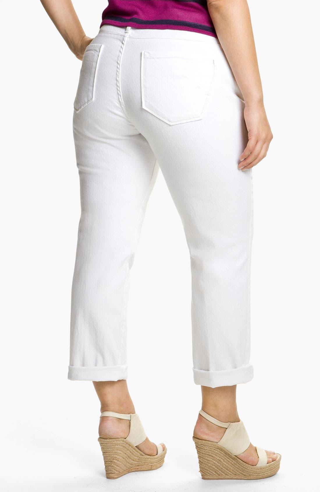 Alternate Image 1 Selected - James Jeans Boyfriend Jeans (Plus)