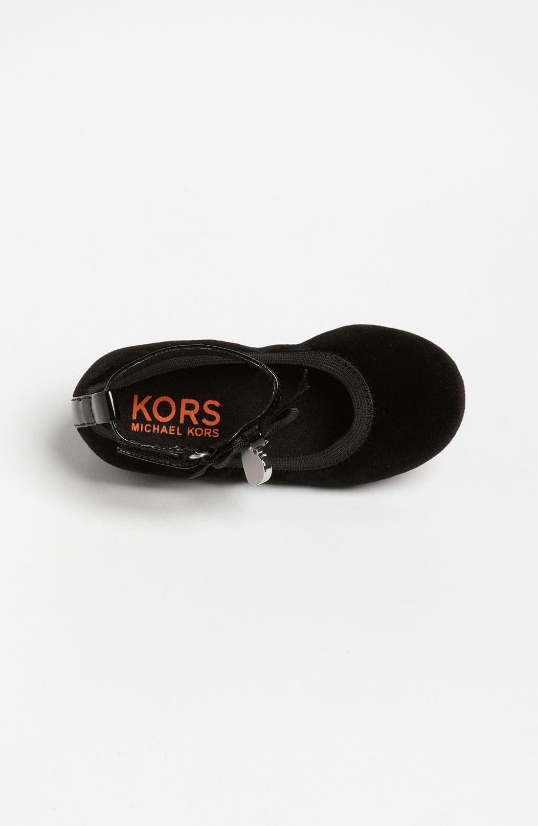 Alternate Image 3  - KORS Michael Kors 'Abbie' Flat (Toddler)