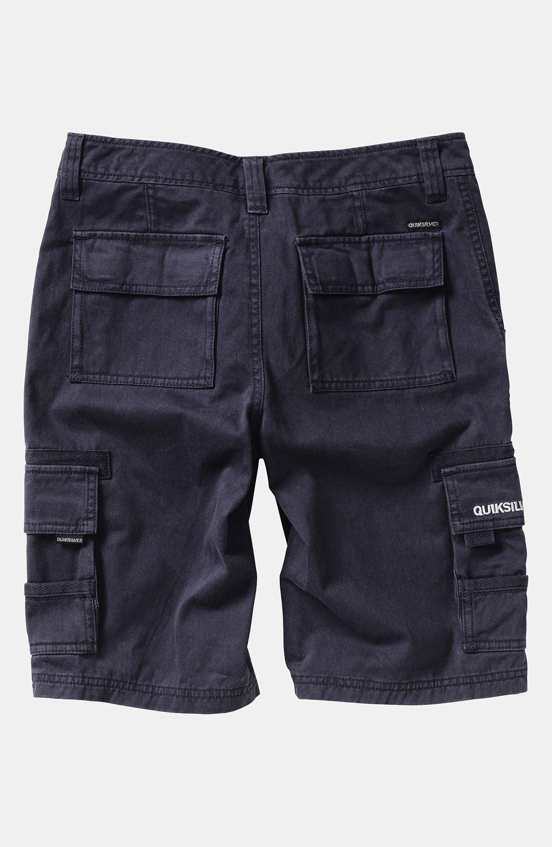 Alternate Image 2  - Quiksilver 'Escargot' Cargo Shorts (Infant)
