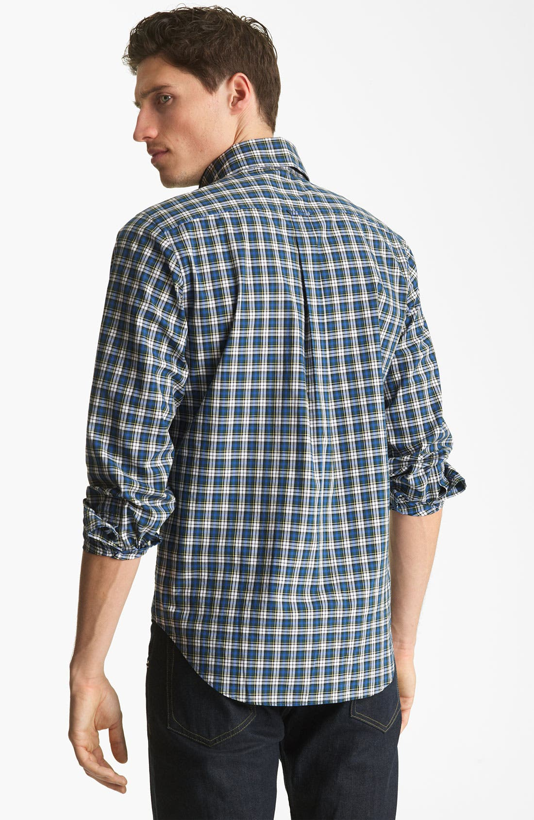 Alternate Image 2  - Jack Spade 'Gibson' Plaid Woven Shirt