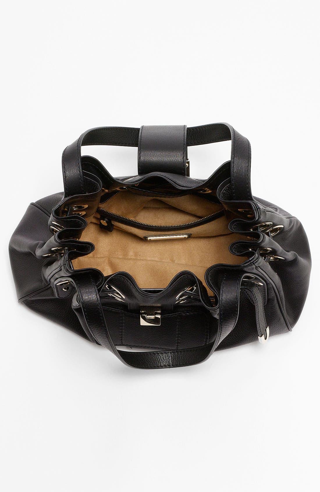 Alternate Image 3  - Jimmy Choo 'Riki' Leather Shopper