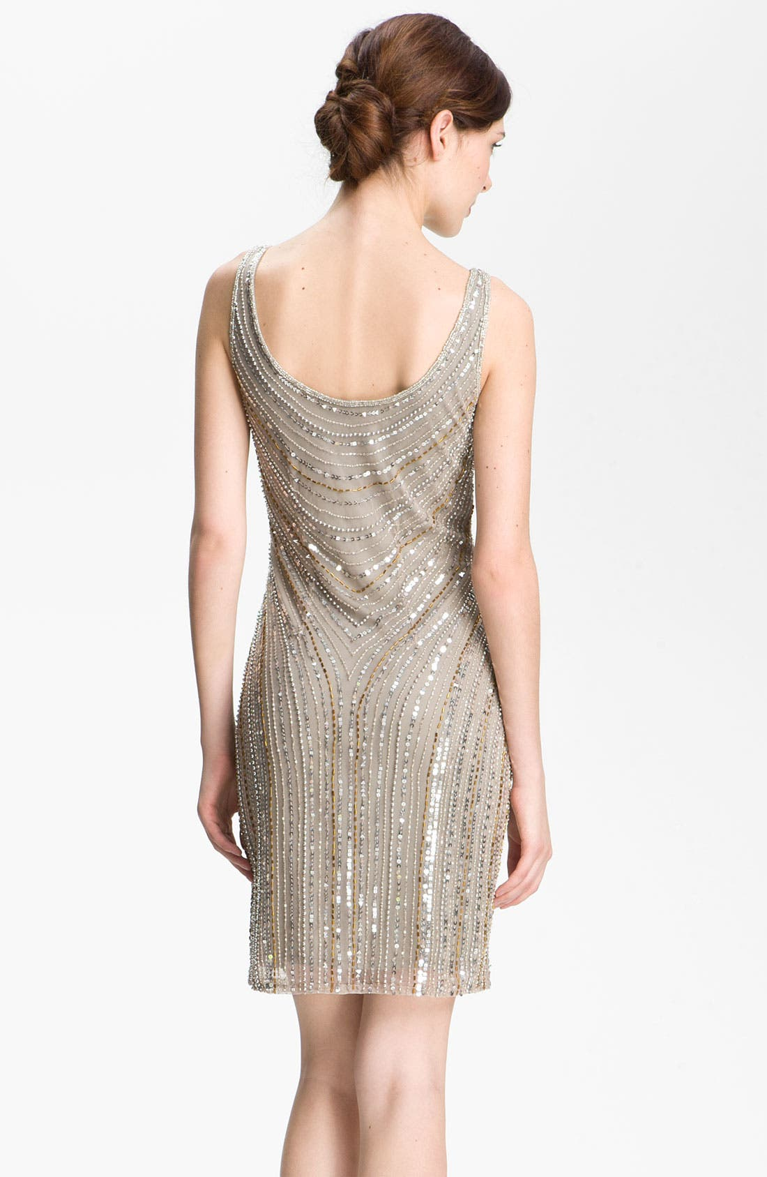 Alternate Image 2  - Pisarro Nights Embellished Scoop Neck Dress