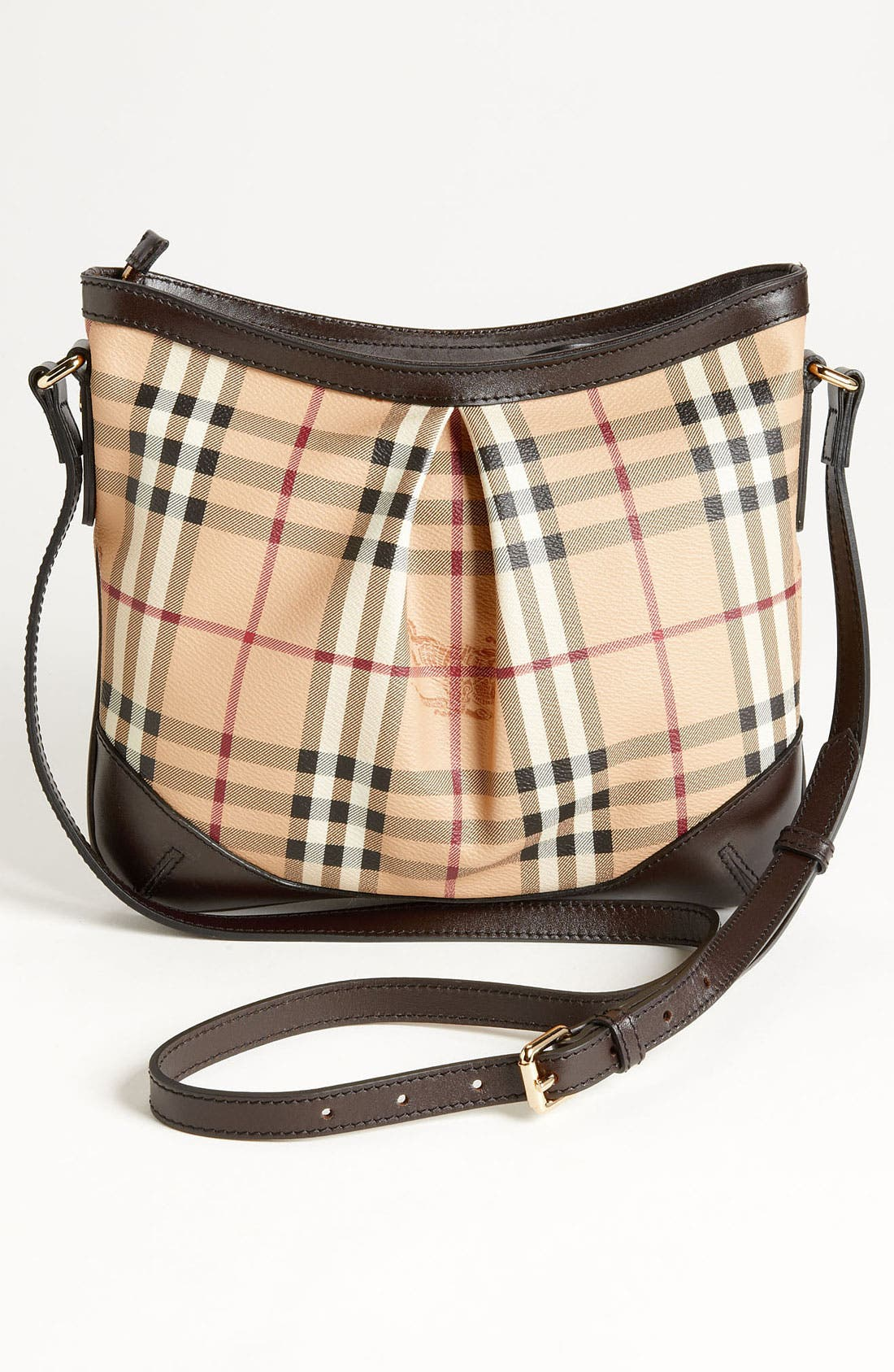 Alternate Image 4  - Burberry 'Haymarket Check' Crossbody Bag