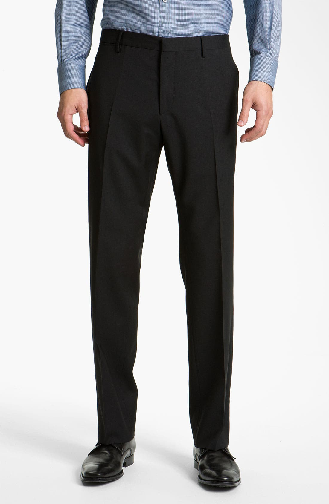Alternate Image 4  - Burberry Trim Fit Wool Suit
