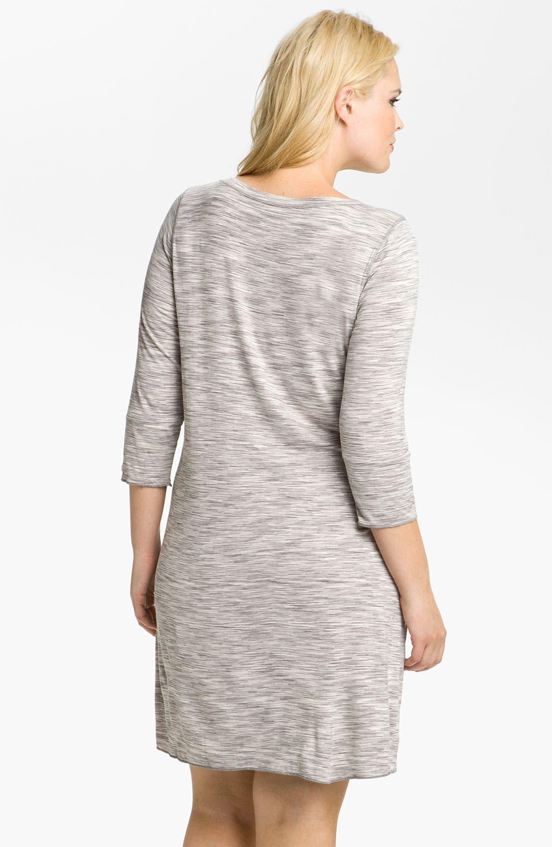 Alternate Image 2  - Hue Space Dye Sleep Shirt (Plus)