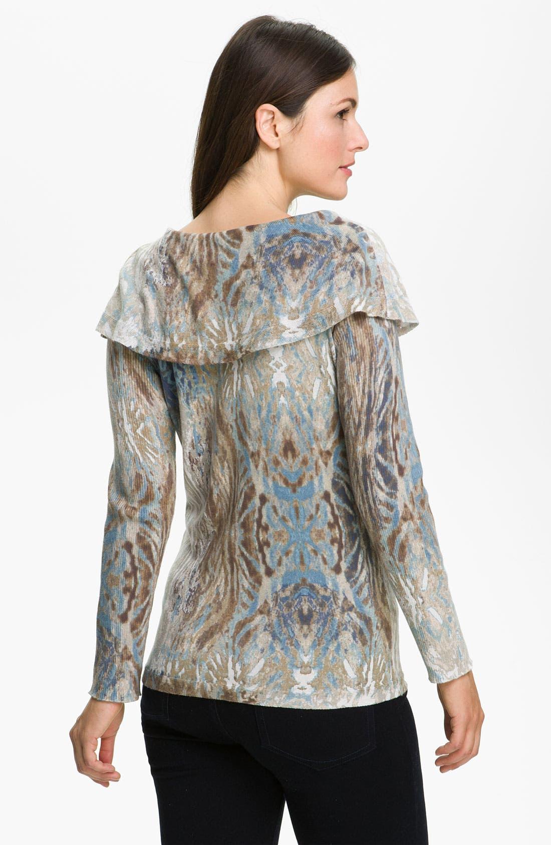 Alternate Image 2  - Nic + Zoe 'Polaris' Print Sweater