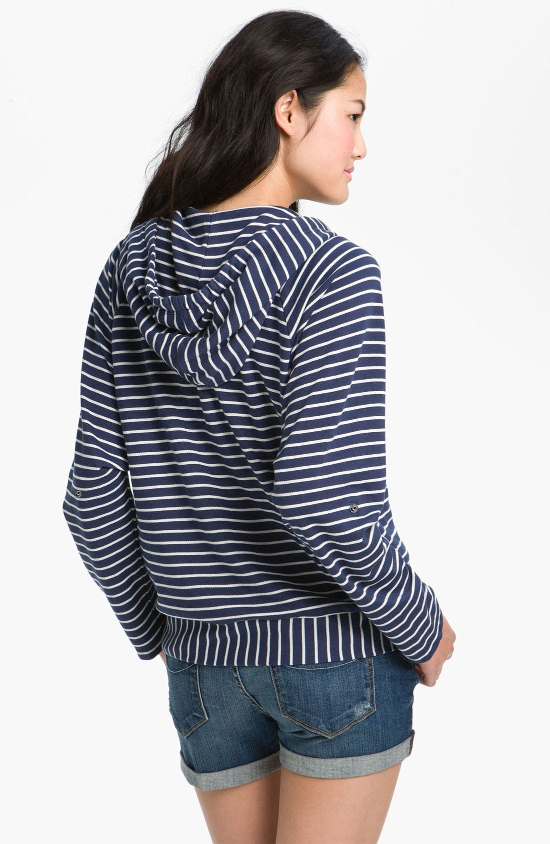 Alternate Image 2  - Splendid Stripe Hoodie