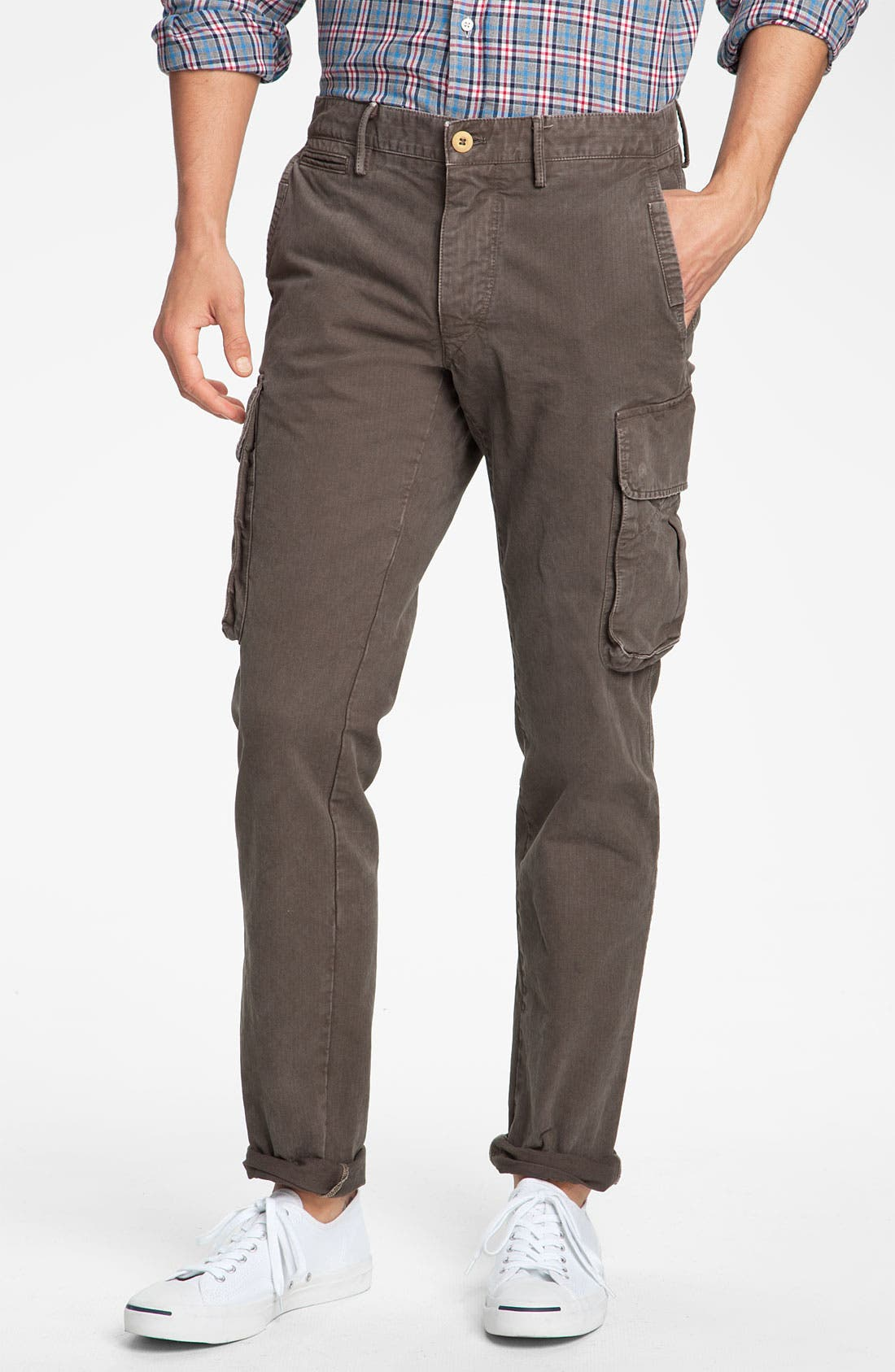 Alternate Image 1 Selected - Mason's Slim Fit Cargo Pants