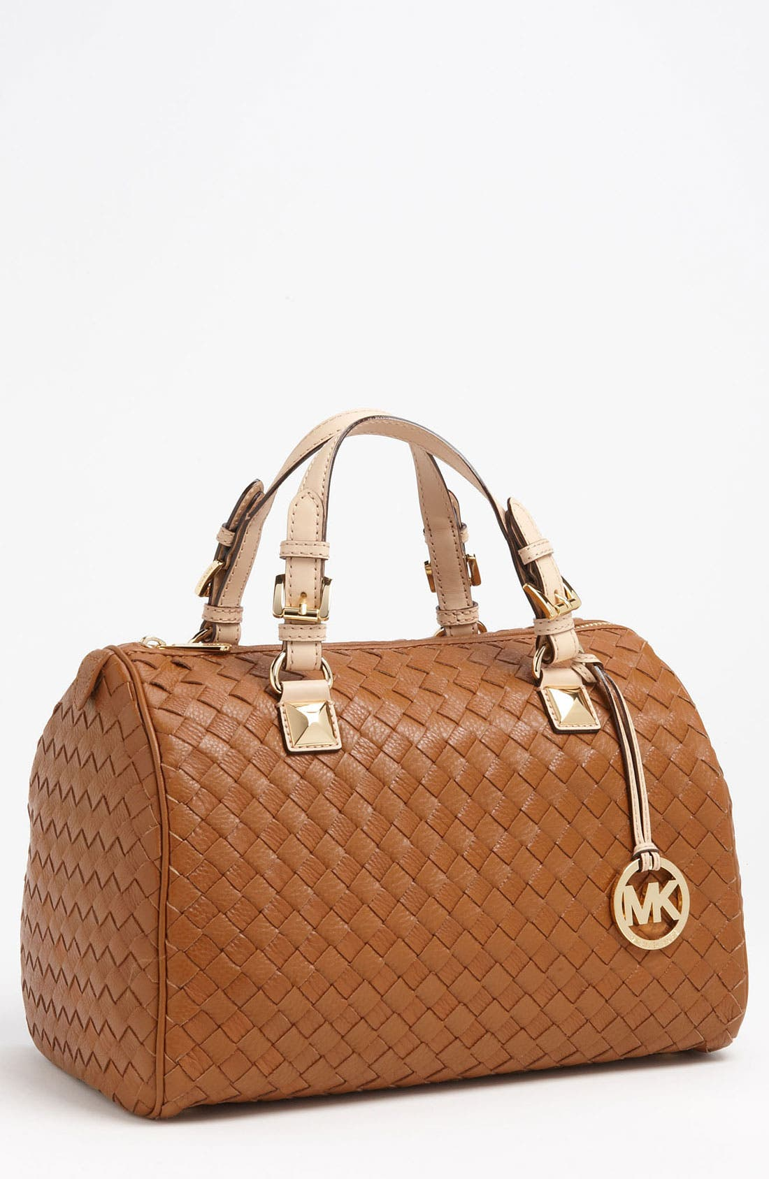 Alternate Image 1 Selected - MICHAEL Michael Kors 'Grayson - Large' Leather Satchel