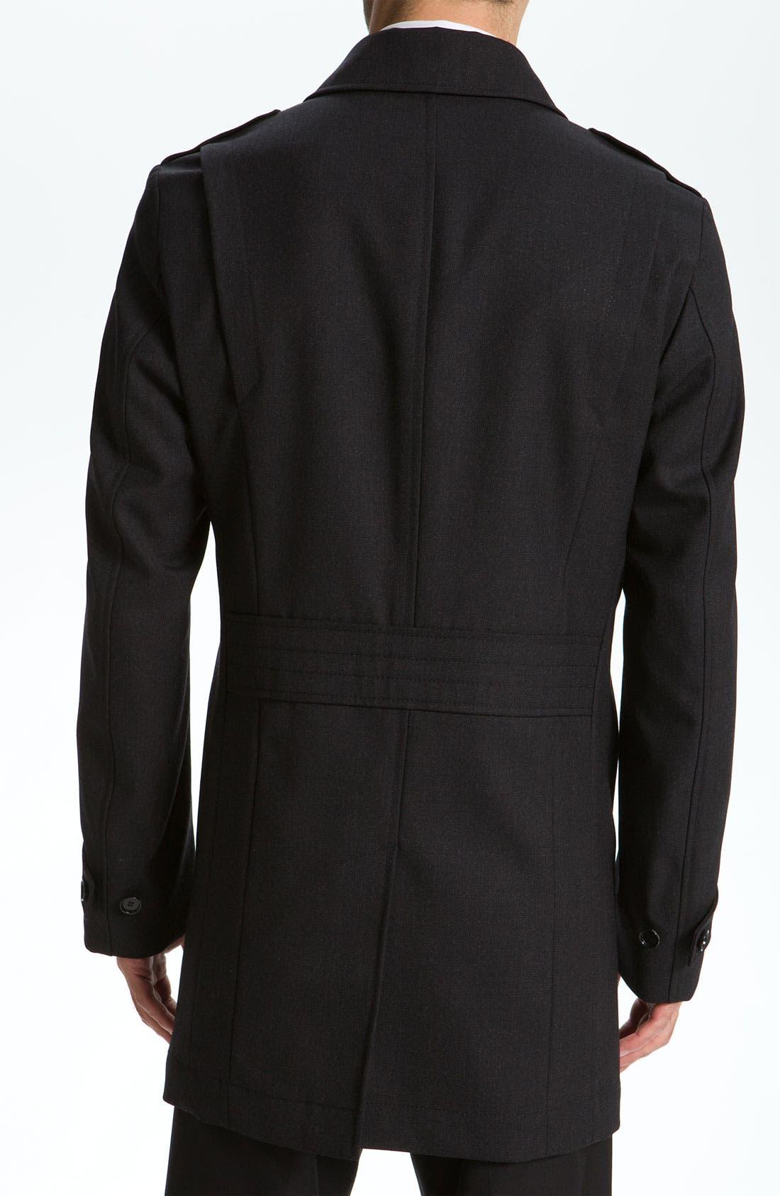 Alternate Image 2  - BOSS Black 'Daze' Top Coat