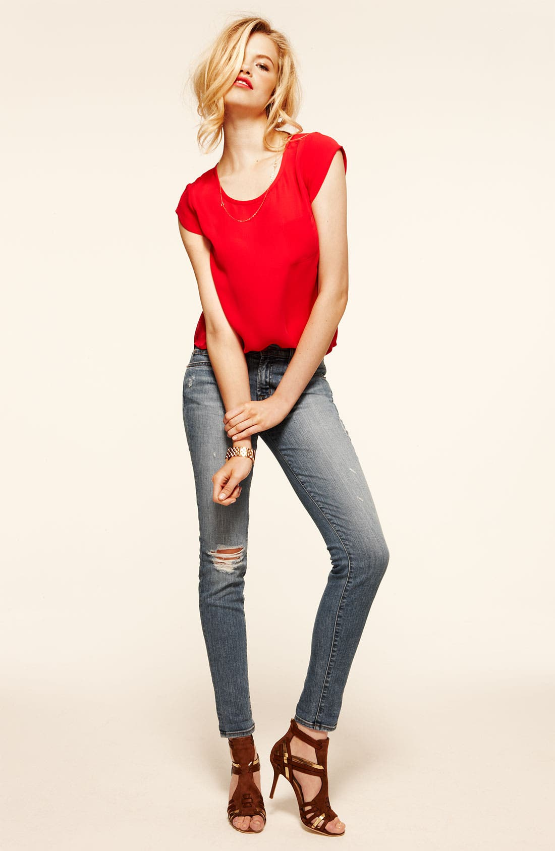Main Image - Joie Top & J Brand Jeans