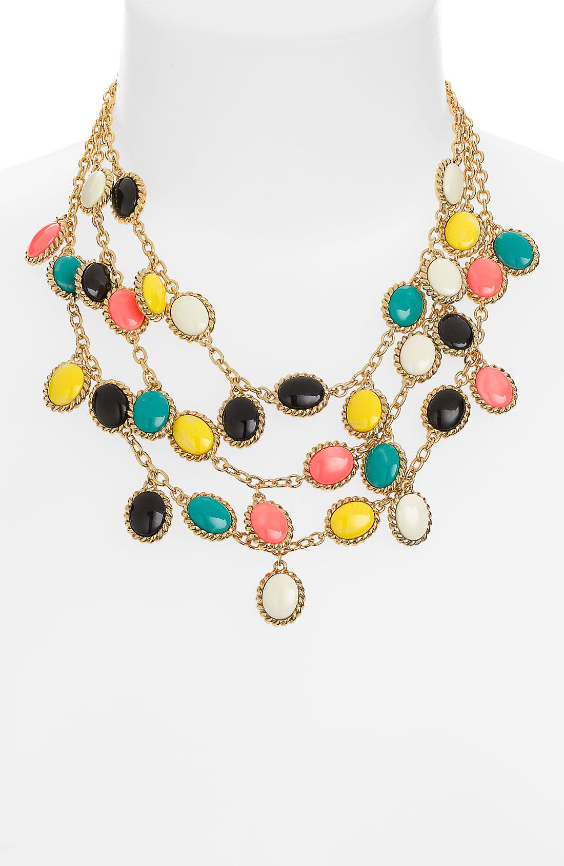 Main Image - kate spade new york 'roped in' bib necklace