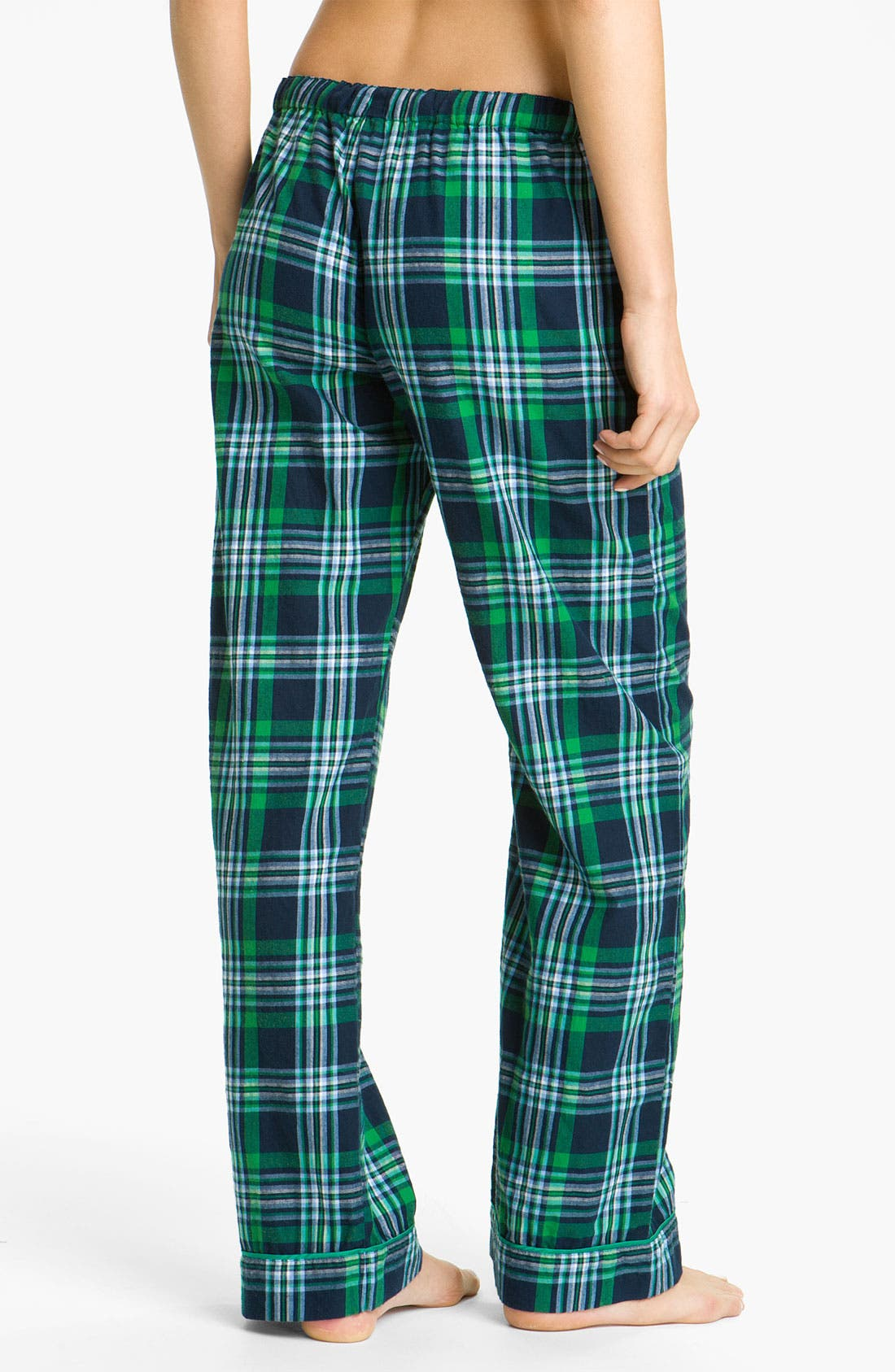 Alternate Image 2  - PJ Salvage 'Emerald City' Plaid Lounge Pants