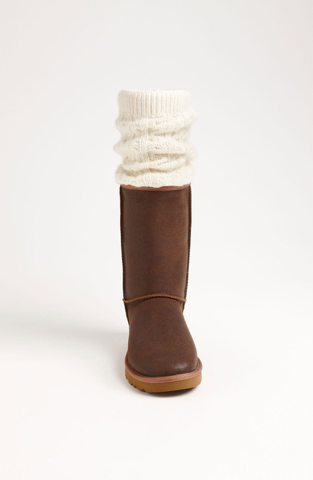 Alternate Image 3  - UGG® Australia 'Tularosa Route Detachable' Boot with Removable Knit Overlay (Women)