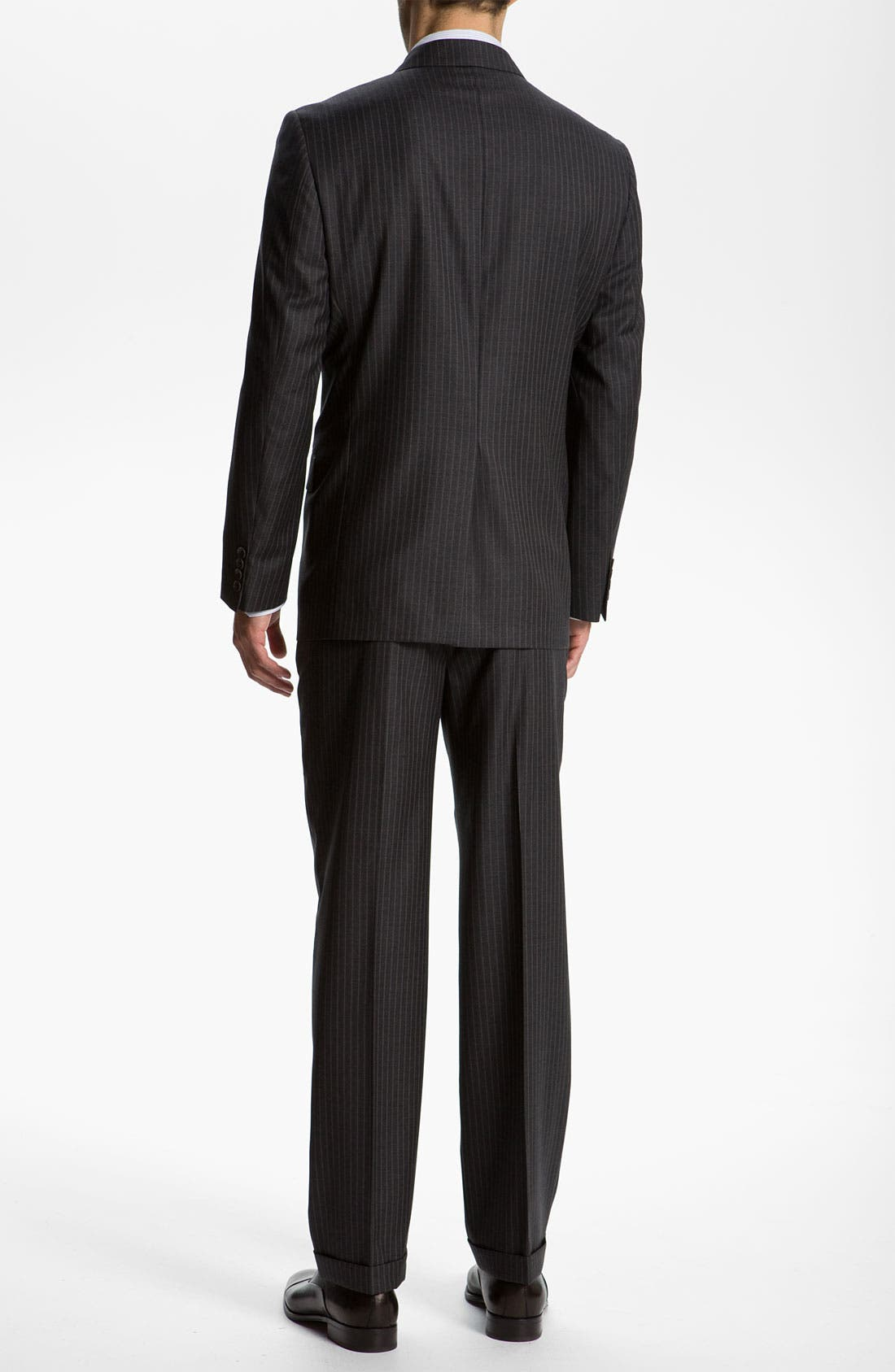 Alternate Image 3  - Joseph Abboud 'Signature Silver' Stripe Suit
