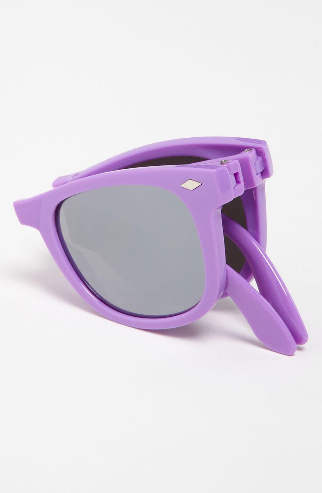 Alternate Image 2  - Icon Eyewear Sunglasses (Girls)