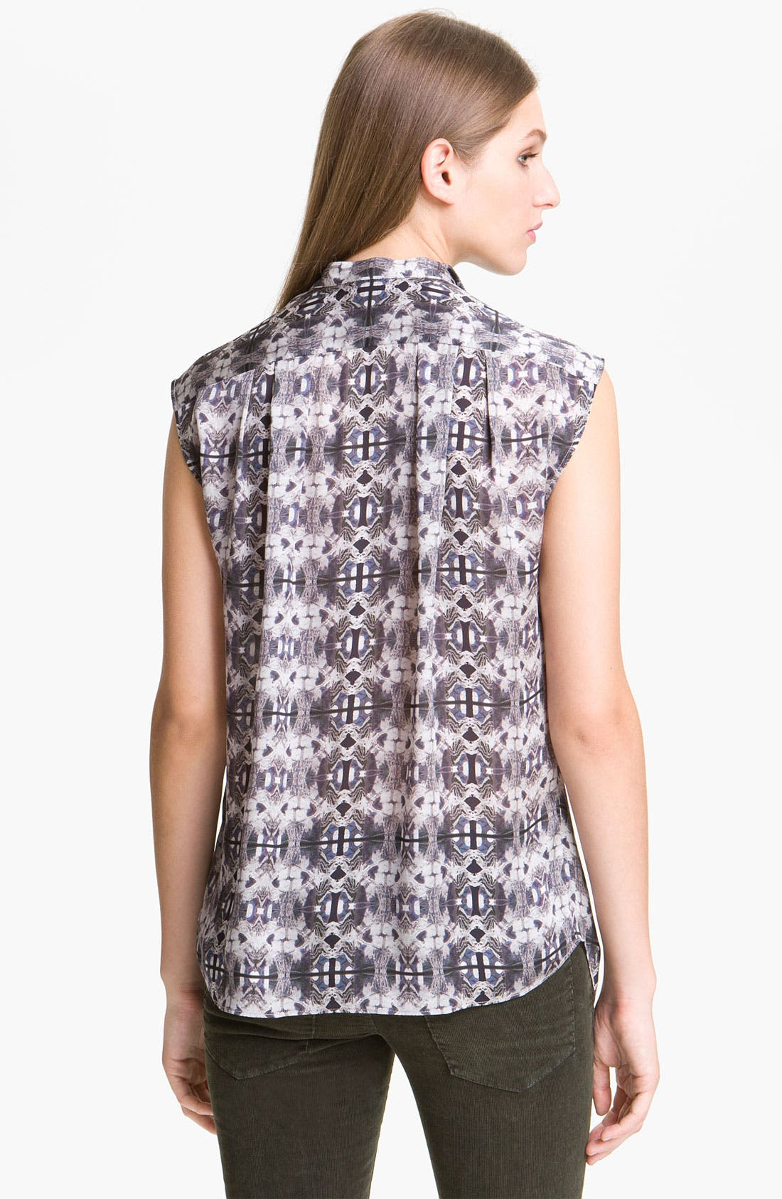 Alternate Image 2  - Theyskens' Theory 'Braque Imoges' Blouse (Nordstrom Exclusive)