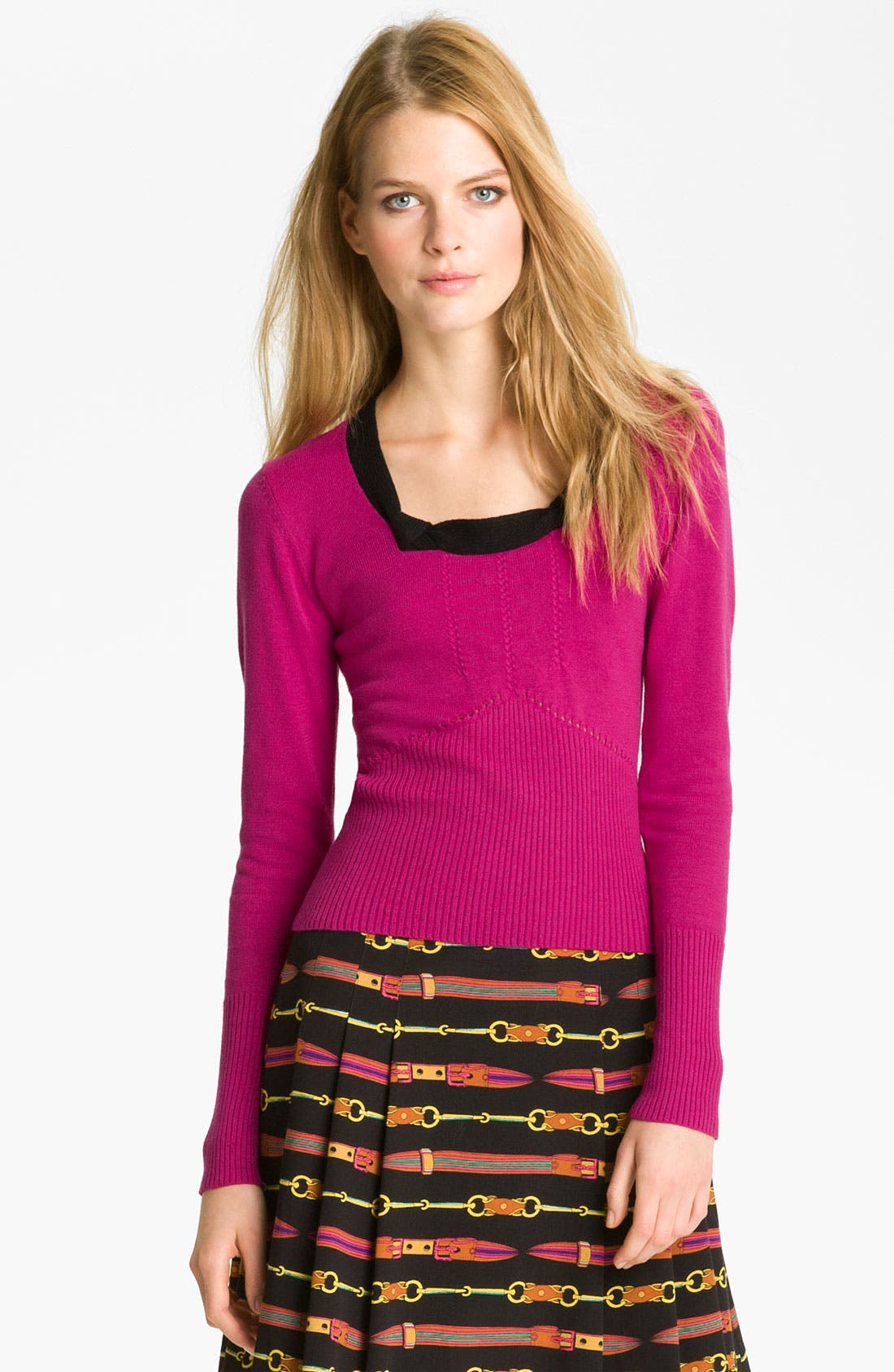 Alternate Image 1 Selected - Nanette Lepore 'Picturesque' Pullover Sweater