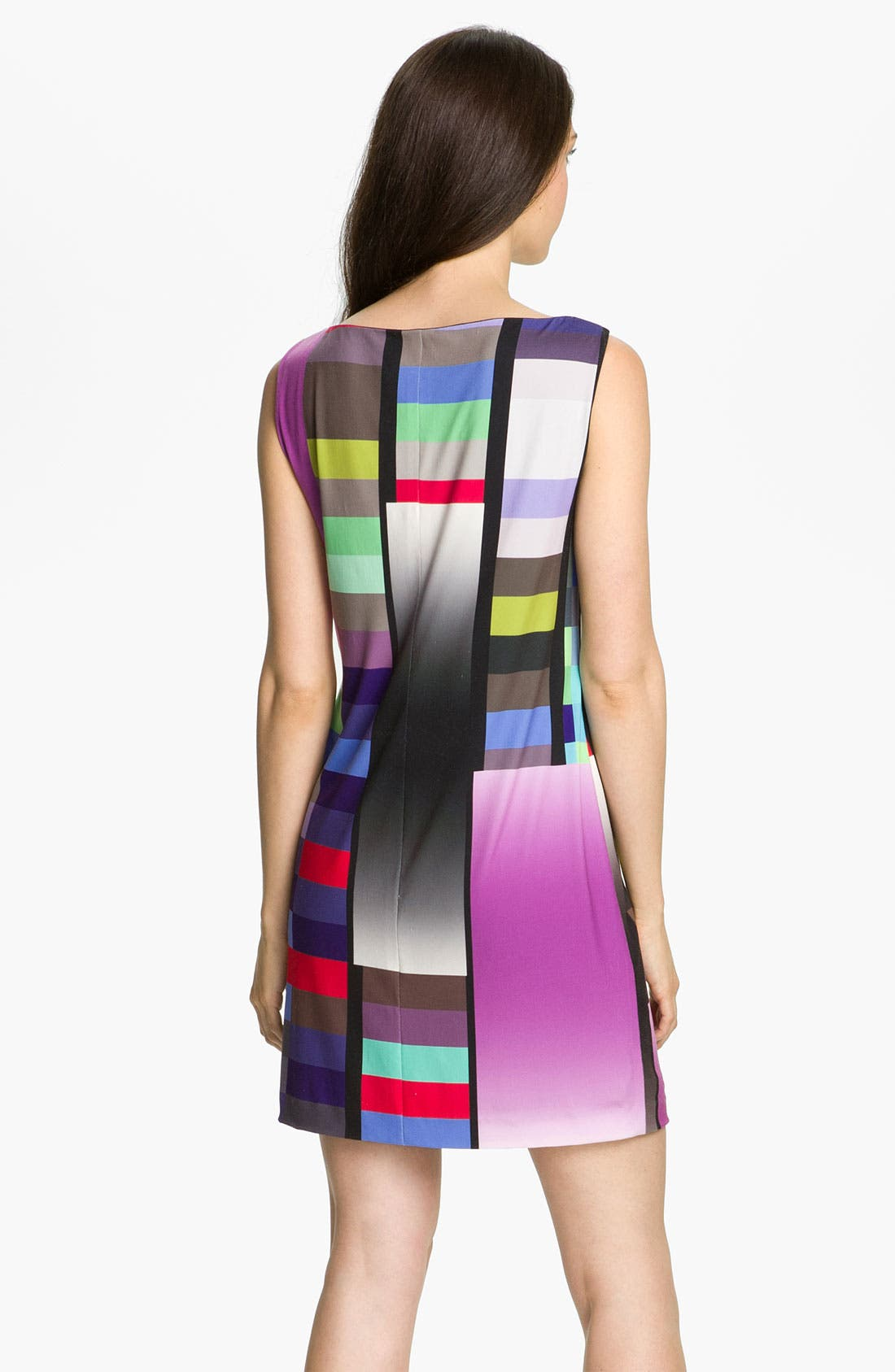 Alternate Image 2  - Suzi Chin for Maggy Boutique Graphic Print Jersey Shift Dress