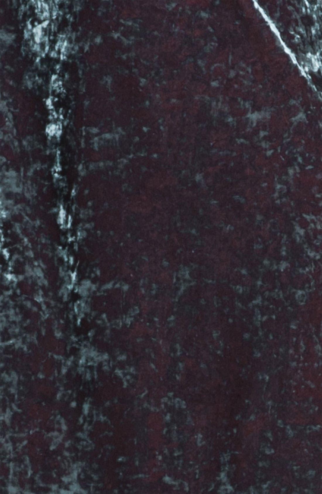 Alternate Image 3  - Aidan Mattox Split Sleeve Crushed Velvet Shift Dress