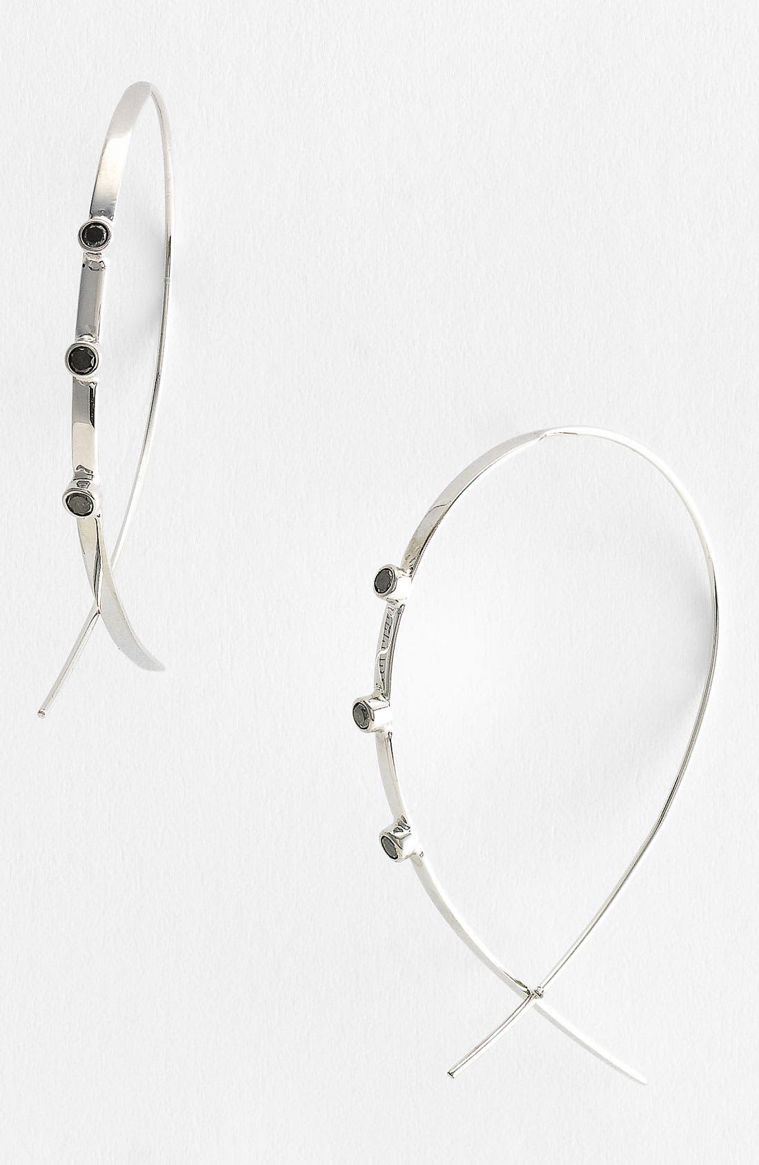 Main Image - Lana Jewelry 'Small Flat Upside Down' Hoop Earrings (Nordstrom Exclusive)