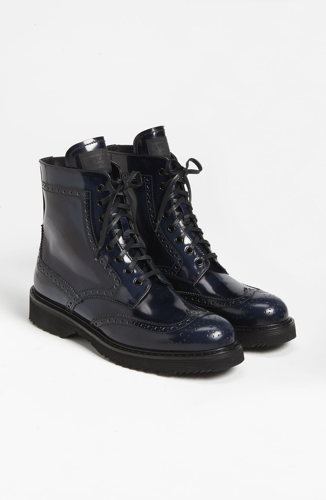 Alternate Image 4  - Prada Spazzolato Combat Boot