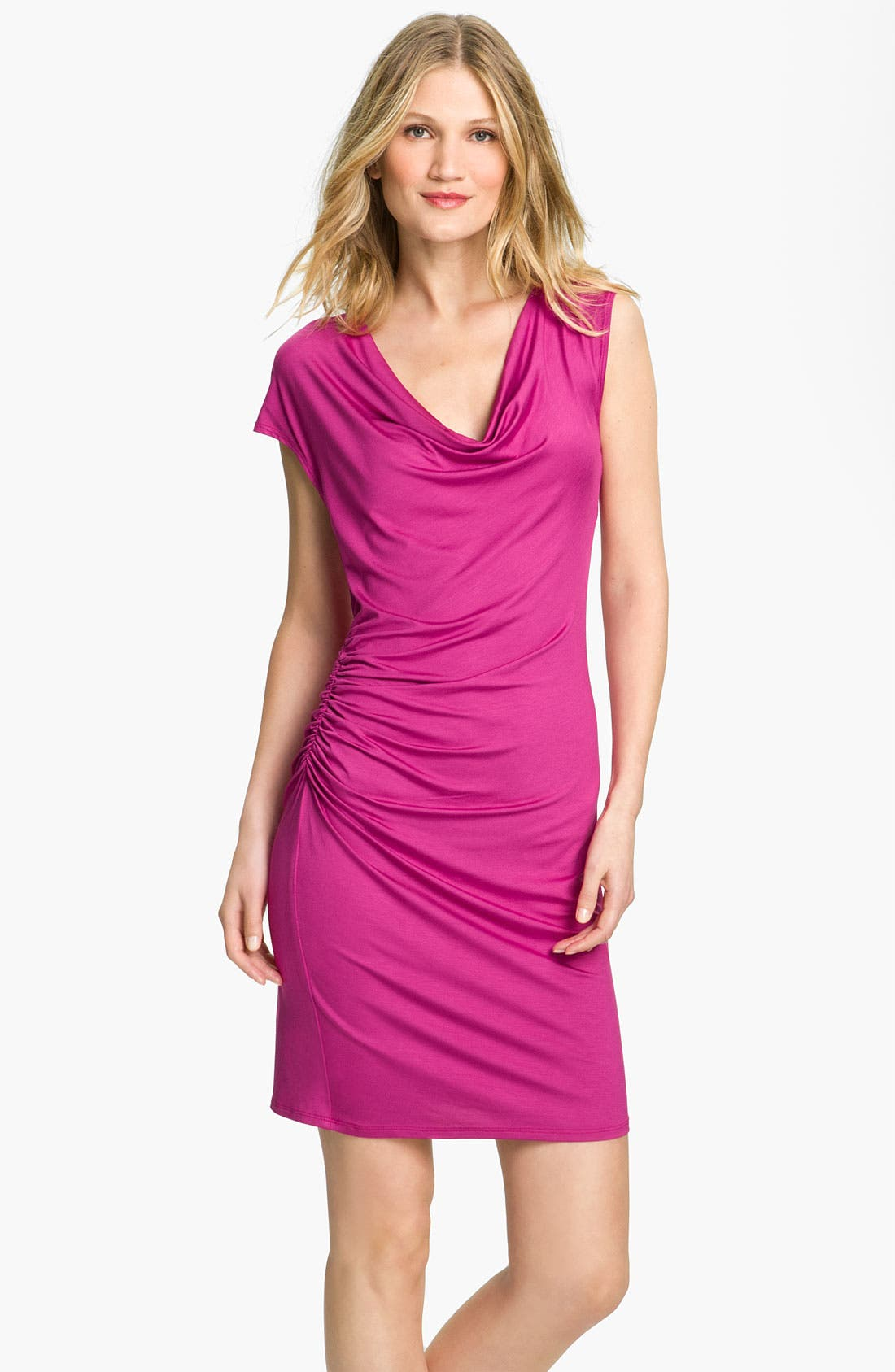 Main Image - Trina Turk 'Brauer' Ruched Shift Dress (Online Exclusive)