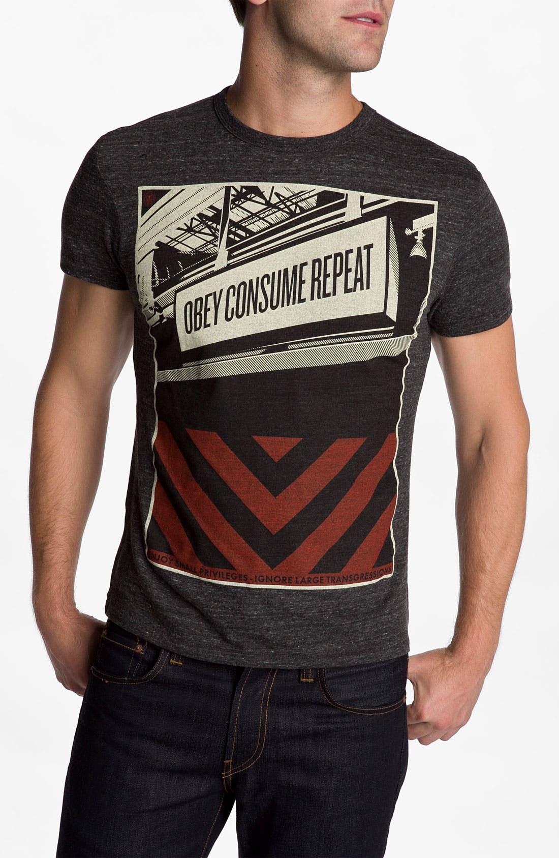Main Image - Obey 'Subway Sign' T-Shirt