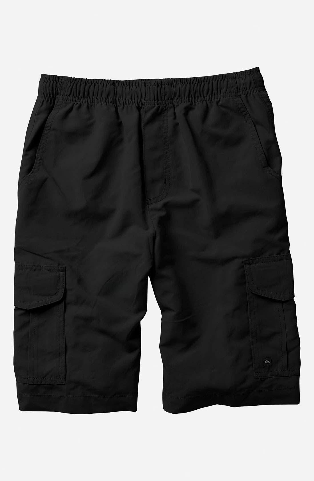 Alternate Image 1 Selected - Quiksilver 'Stylo' Cargo Shorts (Big Boys)
