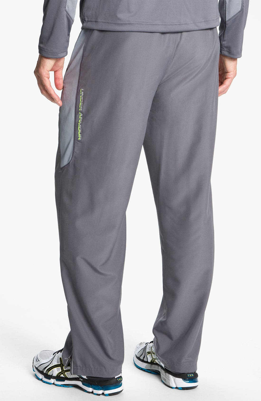 Alternate Image 2  - Under Armour 'Trackside' HeatGear® Woven Track Pants