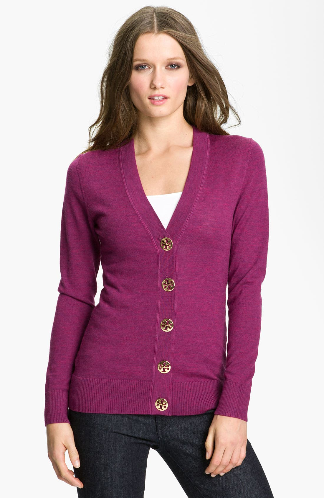 Alternate Image 1 Selected - Tory Burch 'Simone' Cardigan