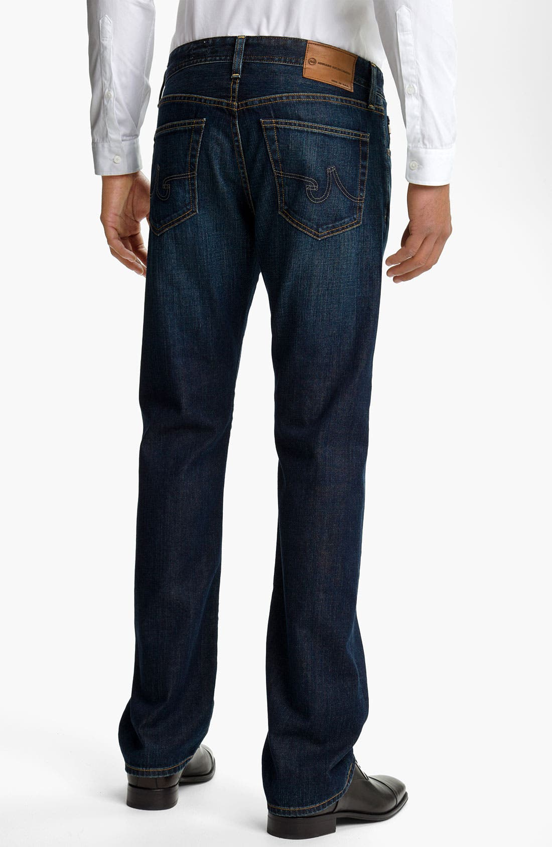 Alternate Image 2  - AG Jeans 'Protégé' Straight Leg Jeans (Seven Year Smooth)