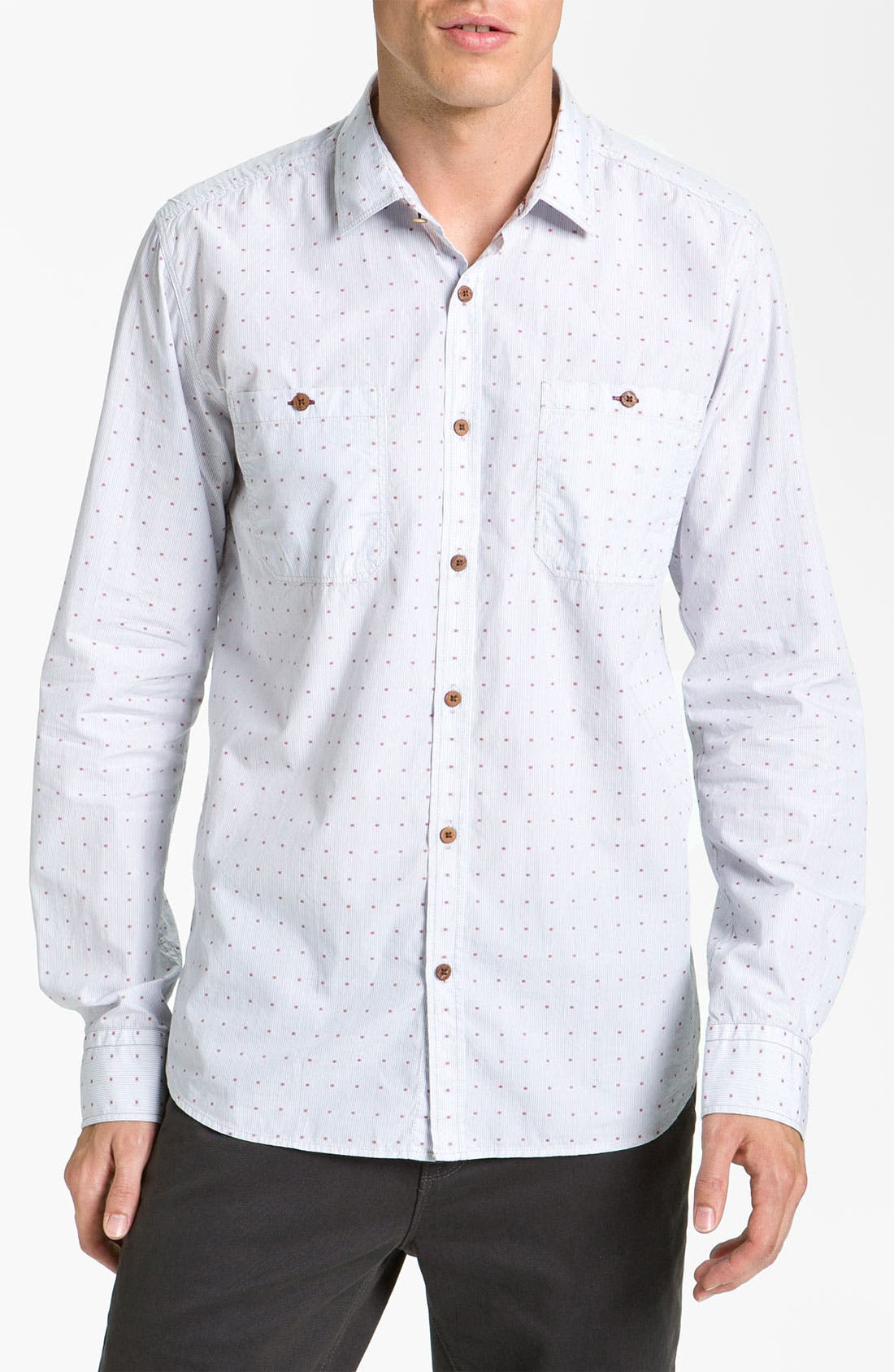 Alternate Image 1 Selected - Ted Baker London 'Lebben' Sport Shirt
