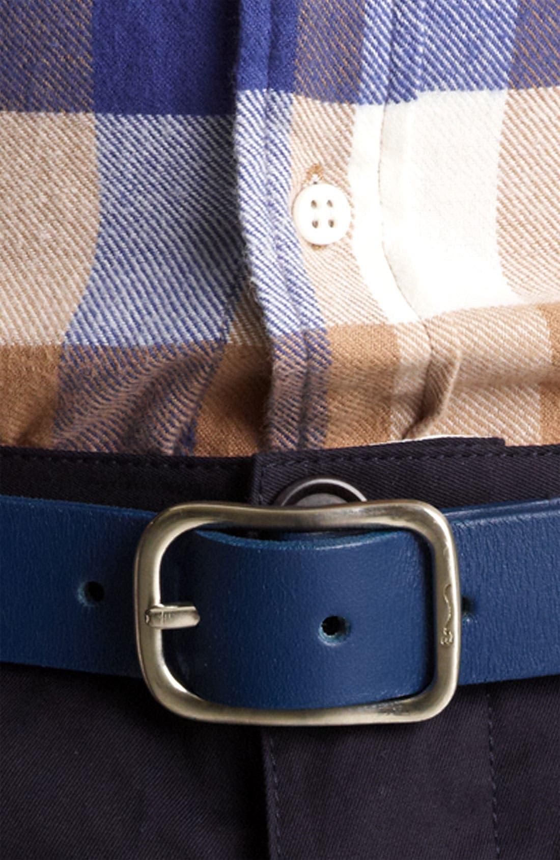 Alternate Image 2  - Shipley & Halmos 'Cambridge' Leather Belt