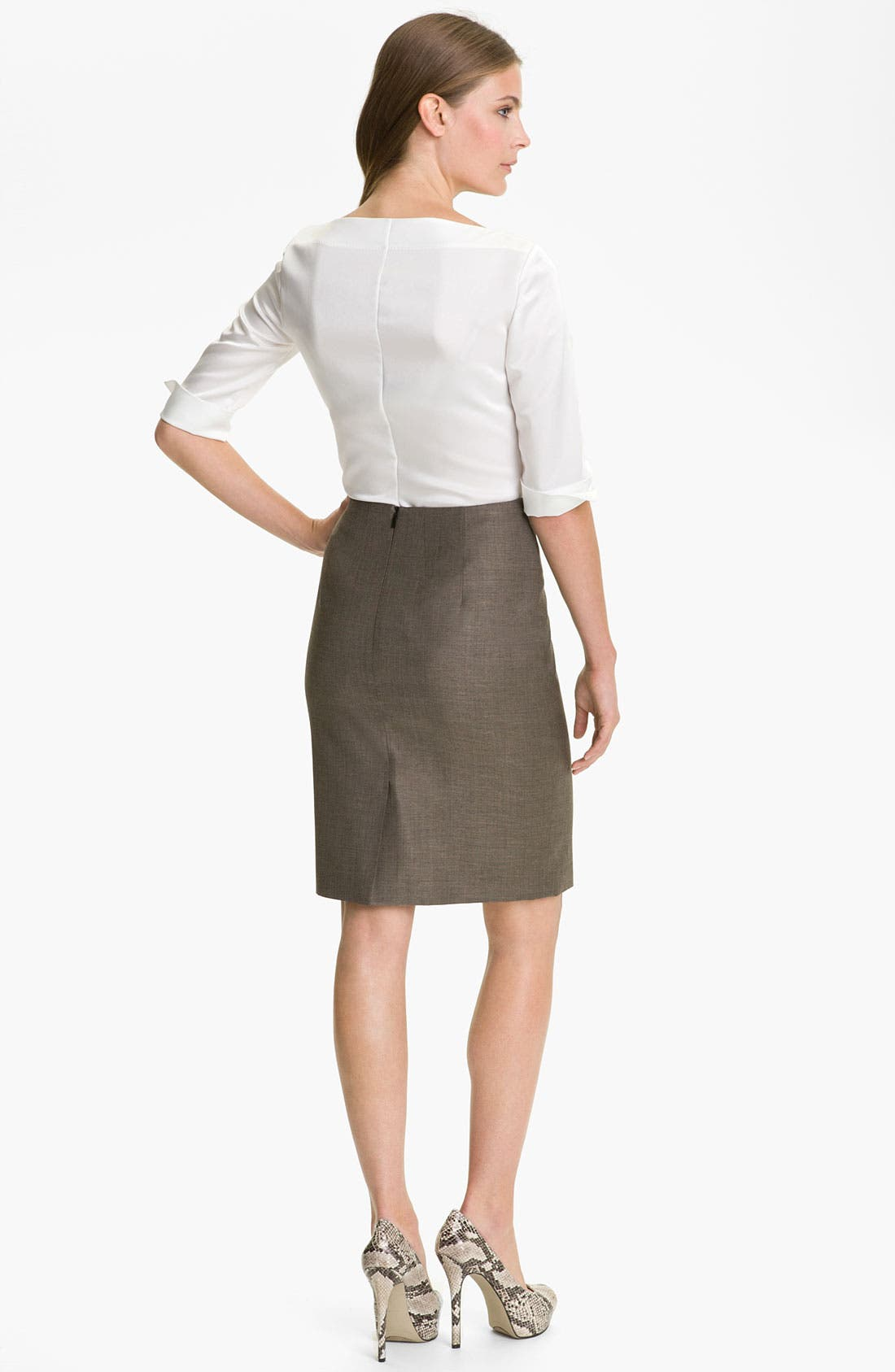 Alternate Image 5  - BOSS HUGO BOSS 'Vilina' Skirt