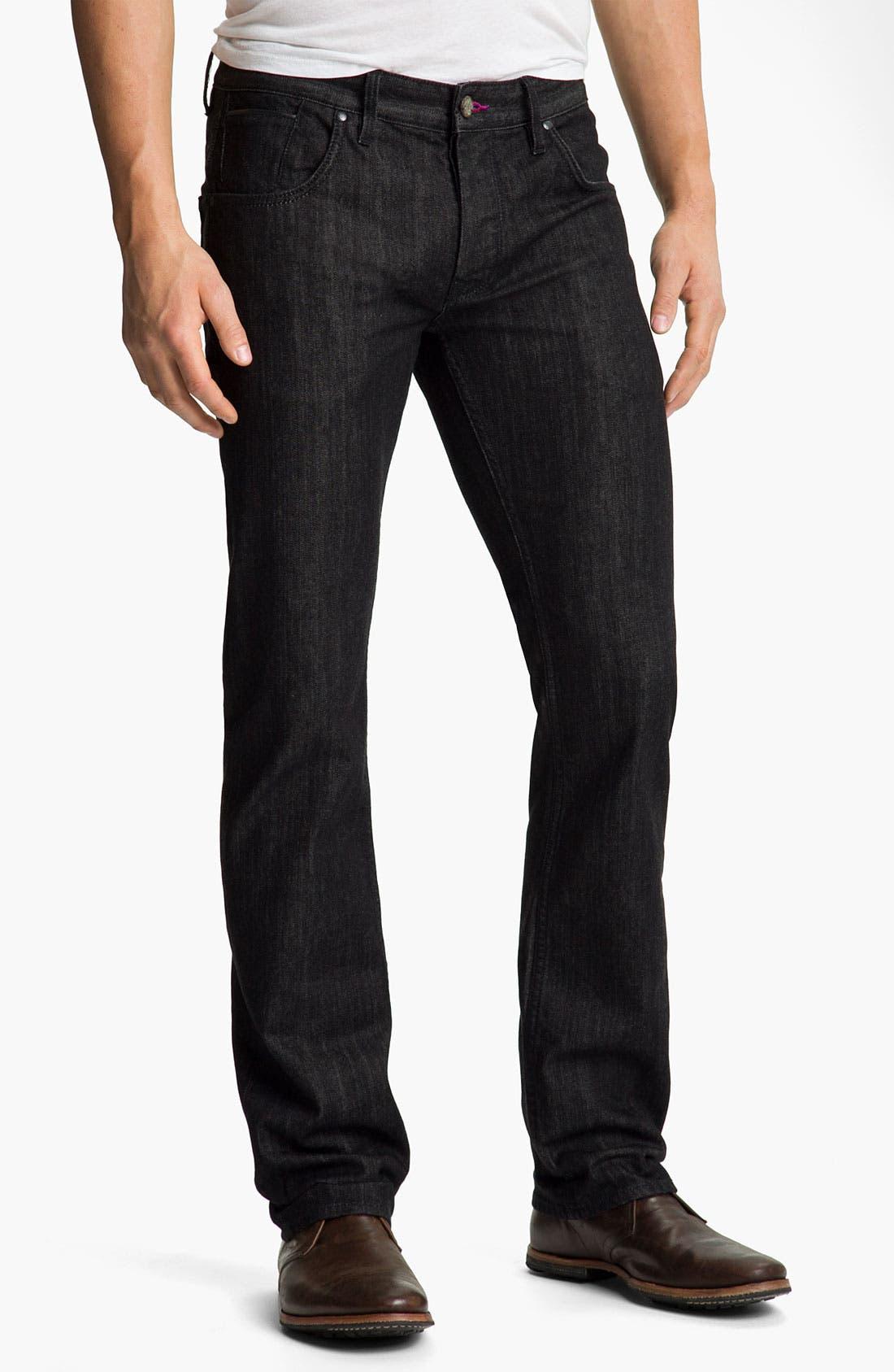 Alternate Image 1 Selected - Robert Graham Jeans 'Noir' Straight Leg Jeans