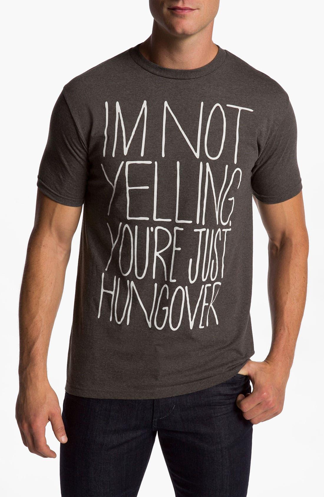 Alternate Image 1 Selected - PalmerCash 'I'm Not Yelling' T-Shirt