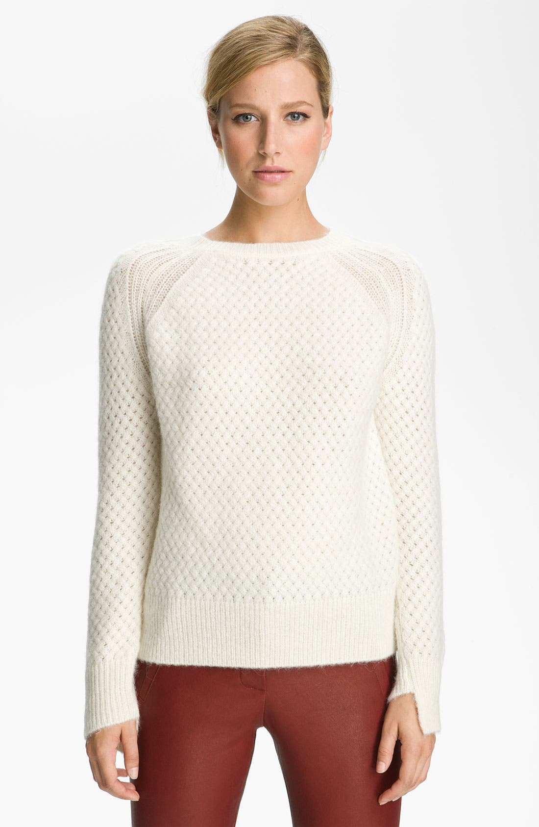 Alternate Image 1 Selected - A.L.C. 'Montgomery Fisherman' Knit Sweater