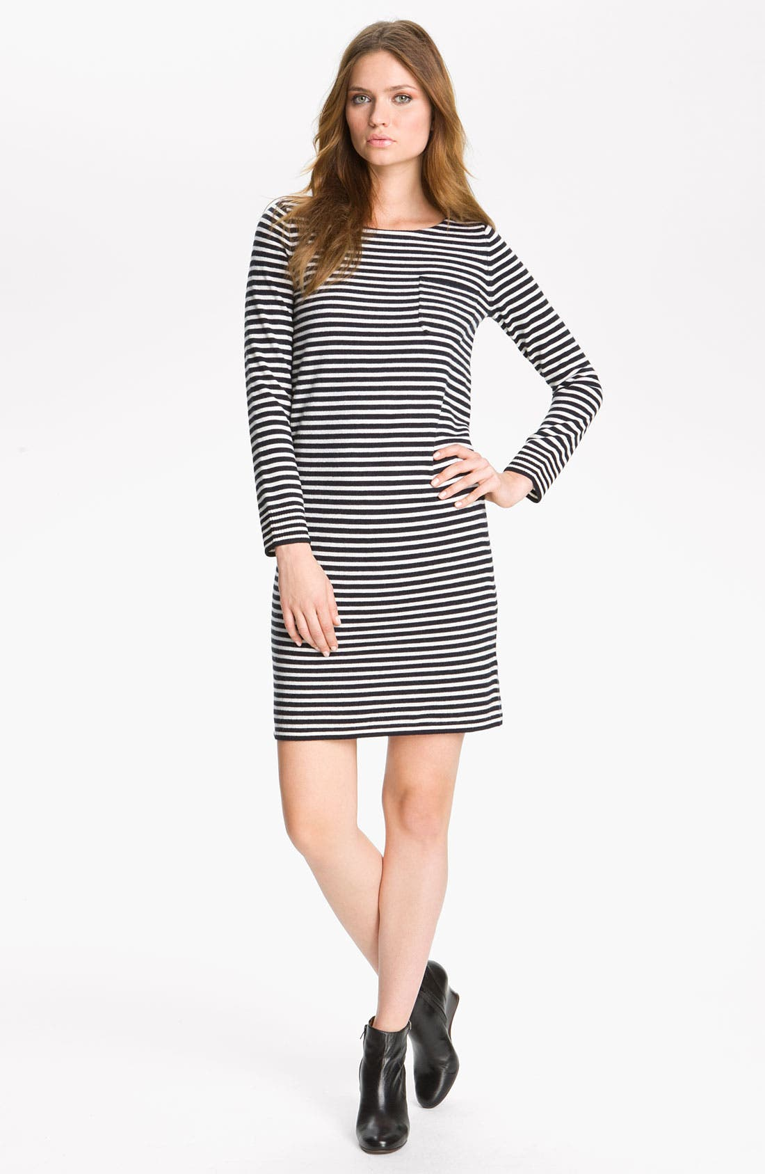 Alternate Image 1 Selected - A.P.C. Stripe Knit Dress