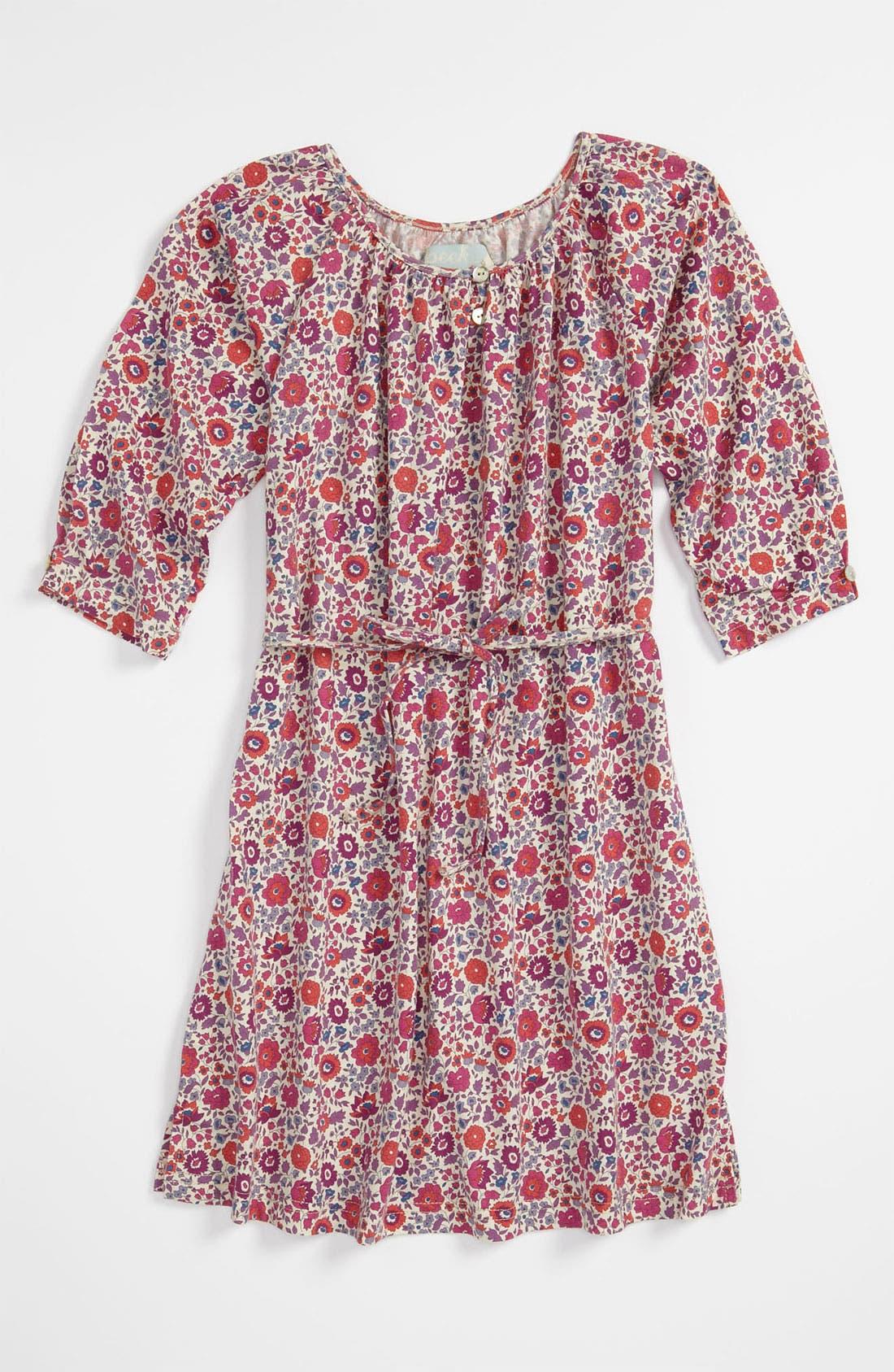 Alternate Image 1 Selected - Peek 'Suzy' Shirtdress (Toddler, Little Girls & Big Girls)