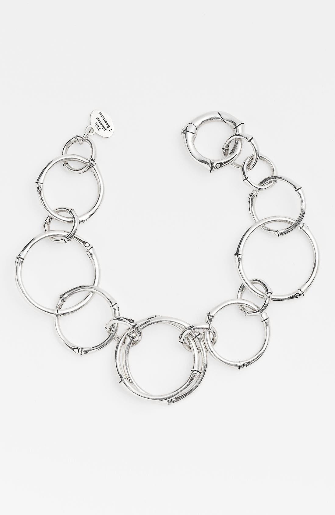 Alternate Image 1 Selected - John Hardy 'Bamboo' Round Link Bracelet
