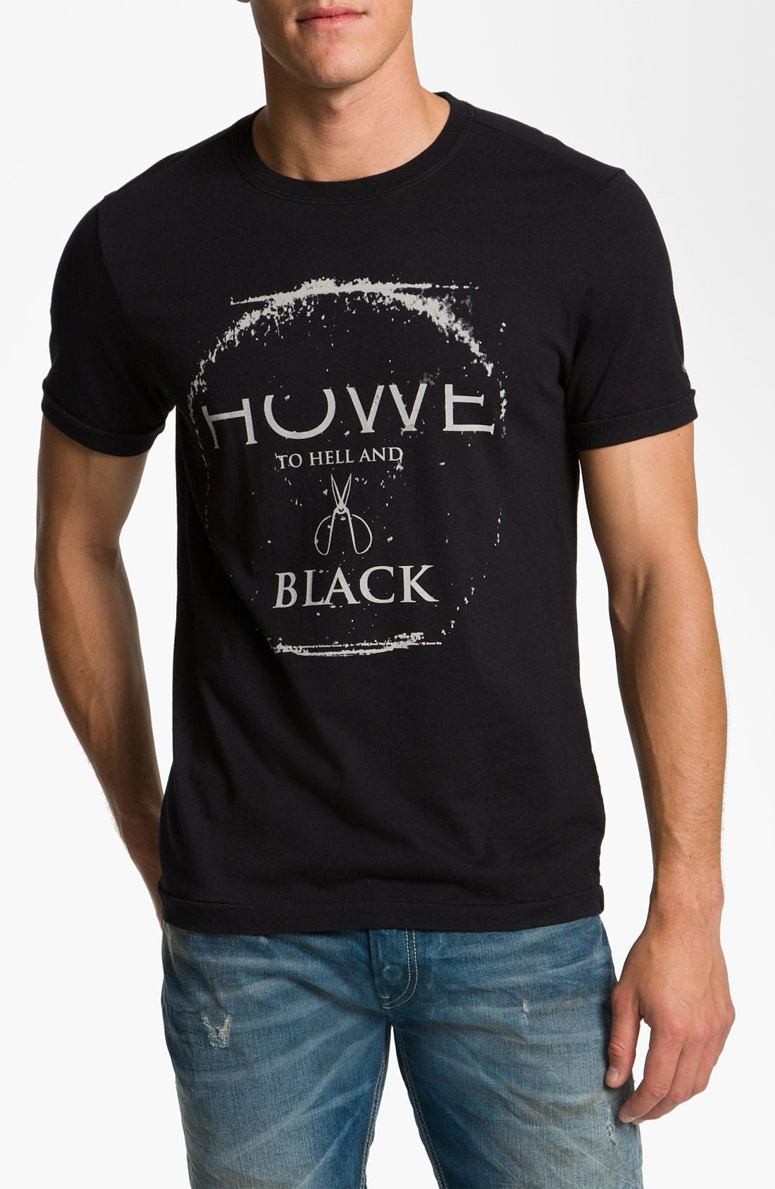 Alternate Image 1 Selected - Howe 'To Hell and Black' Graphic T-Shirt