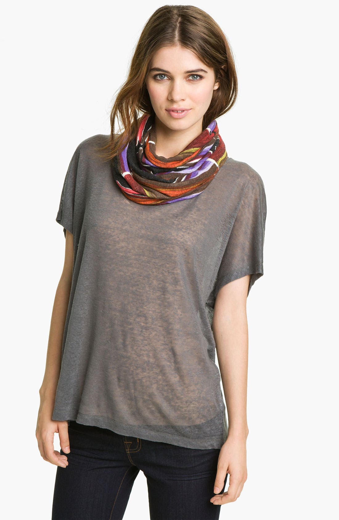 Main Image - Hinge® Abstract Print Infinity Scarf