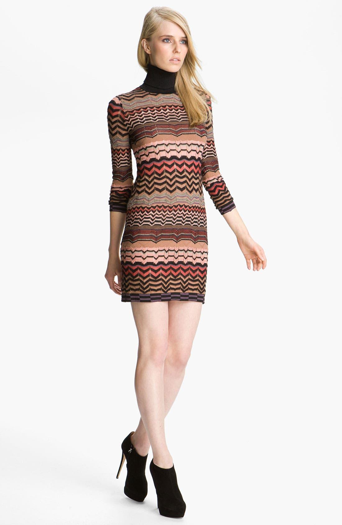 Main Image - M Missoni Zigzag Tube Dress